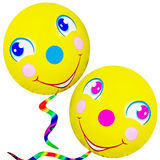 balonów twarzy smiley Fotografia Royalty Free