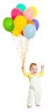 balonów wiązki dziecka dzieciak Zdjęcia Stock