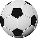 balon De Piłki Nożnej Fotografia Royalty Free