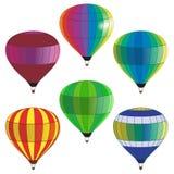 balon powietrza bealton latający cyrk gorąco show photgrphed va Zdjęcia Stock