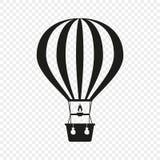 balon powietrza bealton latający cyrk gorąco show photgrphed va Ikona na odosobnionym tle Pojęcie wakacje, podróż szablonu projek ilustracja wektor