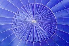 balon powietrza blue blisko gorąco, Obrazy Stock