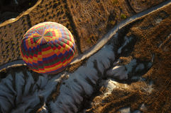 balon powietrza cappadocia gorąco Fotografia Royalty Free