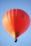 balon powietrza gorąca czerwony Fotografia Stock