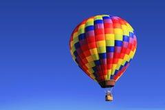 balon powietrza gorąca rainbow Obrazy Royalty Free