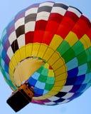 balon powietrza kolorowe gorąco Obraz Stock