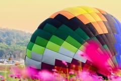balon powietrza kolorowe gorąco Zdjęcie Stock
