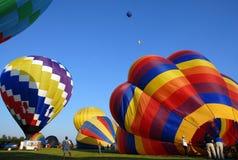 balon powietrza na festiwal gorąco Zdjęcia Royalty Free