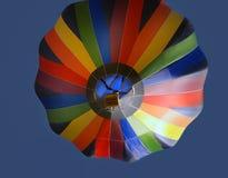 balon powietrza pod spodem gorąco Fotografia Royalty Free