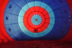 balon powietrza wewnątrz gorące Obraz Stock