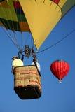 balon powietrza zbliżenia gorąca jazda Fotografia Royalty Free