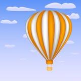 Balon w niebie Zdjęcie Stock