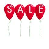 Balon z jedno słowo sprzedażą Obraz Stock