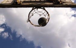 Baloncesto 2 de la calle Imágenes de archivo libres de regalías