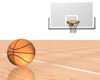 baloncesto 3d stock de ilustración
