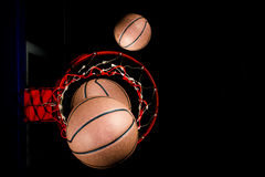 Baloncesto Imagen de archivo libre de regalías