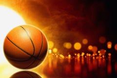 Baloncesto abstracto Fotografía de archivo libre de regalías