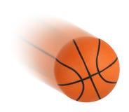 Baloncesto aislado imagen de archivo