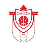 Baloncesto canadiense Fotos de archivo