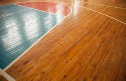 Baloncesto court Fotografía de archivo
