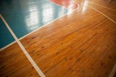 Baloncesto court Imagenes de archivo