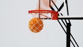 Baloncesto de la bola Foto de archivo libre de regalías