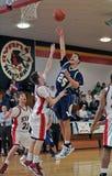 Baloncesto de la High School secundaria de Philadelphia imagenes de archivo