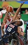 Baloncesto 2016 de los juegos de Paralympics imagen de archivo