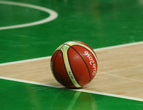 Baloncesto 2016 de Río en la cancha de básquet en la arena 1 de Carioca durante Río 2016 Juegos Olímpicos Fotografía de archivo libre de regalías