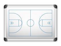 Baloncesto de Whiteboard Imagenes de archivo