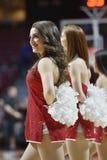2014 baloncesto del NCAA - acción del juego del templo de Towson @ Fotografía de archivo