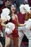 2014 baloncesto del NCAA - acción del juego del templo de Towson @ Imagenes de archivo
