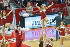 2014 baloncesto del NCAA - alegría/danza Imagen de archivo libre de regalías