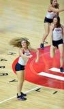 2014 baloncesto del NCAA - alegría/danza Foto de archivo libre de regalías