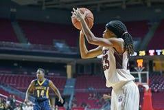 2014 baloncesto del NCAA - el baloncesto de las mujeres Fotografía de archivo libre de regalías