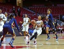 2014 baloncesto del NCAA - el baloncesto de las mujeres Foto de archivo
