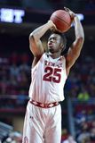 2015 baloncesto del NCAA - el Templo-ECU Imagen de archivo libre de regalías