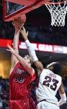 2014 baloncesto del NCAA - 5 grandes Foto de archivo libre de regalías