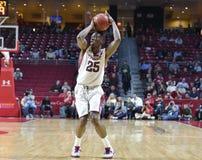 2014 baloncesto del NCAA - 5 grandes Fotografía de archivo