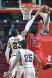 2014 baloncesto del NCAA - 5 grandes Imágenes de archivo libres de regalías