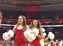 2014 baloncesto del NCAA - Kansas en el templo Foto de archivo libre de regalías