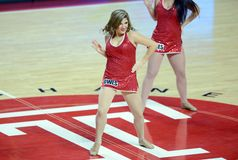 2014 baloncesto del NCAA - pelotón del alcohol Fotografía de archivo
