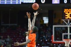 2015 baloncesto del NCAA - templo-Bucknell del NIT primer Rd Foto de archivo libre de regalías