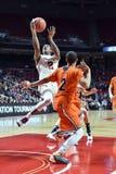 2015 baloncesto del NCAA - templo-Bucknell del NIT primer Rd Fotos de archivo