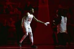 2015 baloncesto del NCAA - templo contra el estado de Delaware Fotografía de archivo