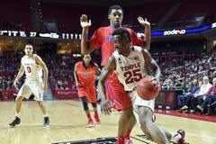 2015 baloncesto del NCAA - Templo-La de los cuartos de final del NIT tech Fotografía de archivo libre de regalías