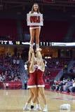 2015 baloncesto del NCAA - Templo-La de los cuartos de final del NIT tech Imagenes de archivo