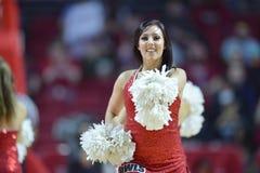 2015 baloncesto del NCAA - Templo-La de los cuartos de final del NIT tech Fotos de archivo libres de regalías