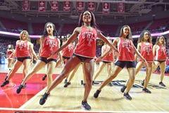 2015 baloncesto del NCAA - templo-Tulane Imagenes de archivo