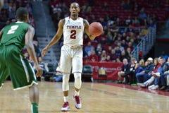 2015 baloncesto del NCAA - templo-Tulane Fotografía de archivo